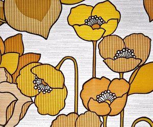 art, flowers, and retro image