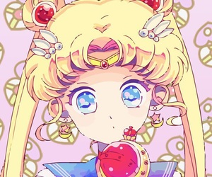 sailor moon, anime, and background image