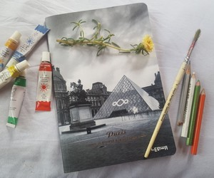 france, grey, and paint image