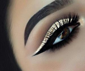 awesome, fashion, and lashes image