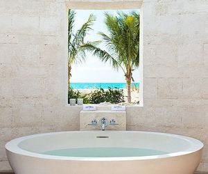 bathroom, luxury, and beach image