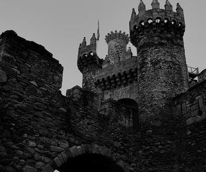 castle, spain, and galicia image