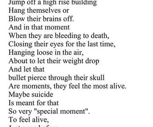 sad, suicide, and quotes image