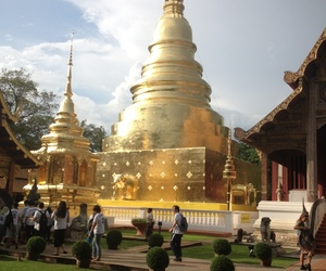 Temple, chiang mai, and thailand image