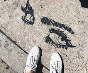 art, eyes, and tumblr image