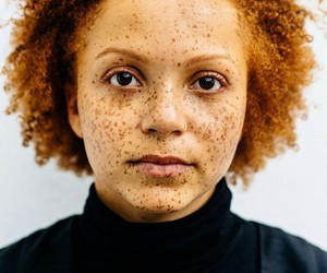 freckles, photography, and redhead image