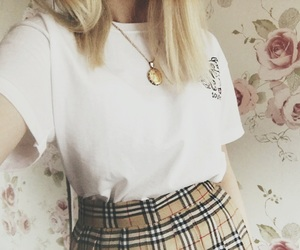 Burberry, outfits, and vintage image