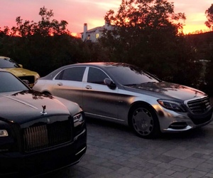 benz, rolls royce, and cars image