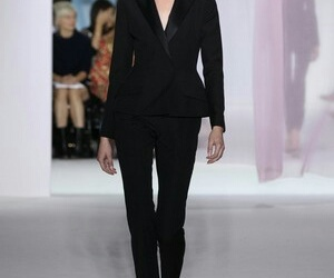 black suit, blazer, and power image