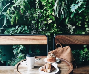 brunch, fashion, and greenery image