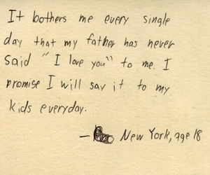 quotes, sad, and father image