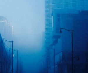 blue, aesthetic, and city image