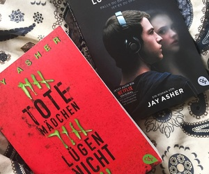 books, photography, and hannah baker image