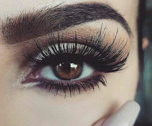 eyes, maquillaje, and ojos image