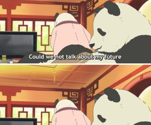 quotes, anime, and funny image