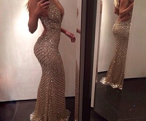 dress, luxury, and body image
