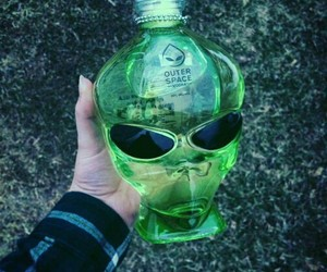 alien, green, and grunge image