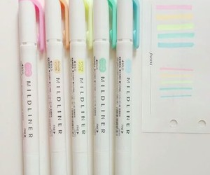 pastel, school, and stationery image