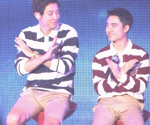 dodo, chansoo, and exo couples image