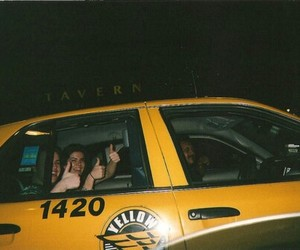 grunge, taxi, and hipster image