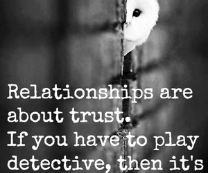 Relationship, trust, and quotes image