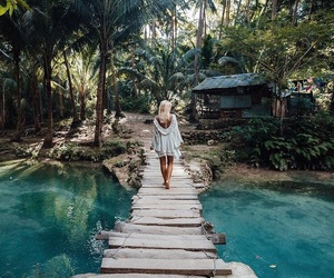 girl, travel, and tropical image