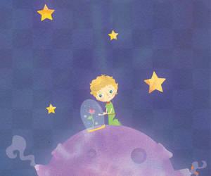 estrella, rosa, and el principito image