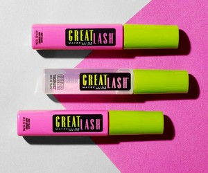 Maybelline and pink image