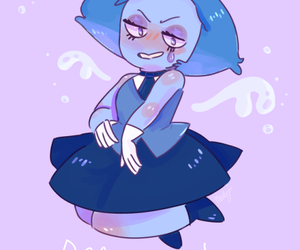 aquamarine and steven universe image