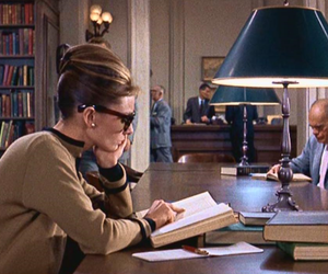 Breakfast at Tiffany's, audrey hepburn, and books image