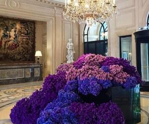 flowers, luxury, and purple image