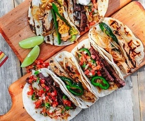 food, tacos, and delicious image
