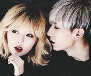 hyuna, hyunseung, and trouble maker image