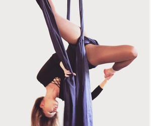 aerial, dance, and girl image