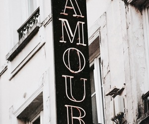 amour, love, and french image