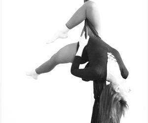 acrobatic, dance, and gymnastic image