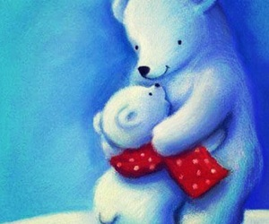 art, hugs, and lovely image