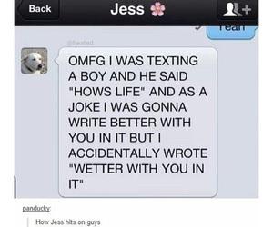 funny, joke, and girl image