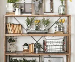home decor, shelving, and farmhouse style image
