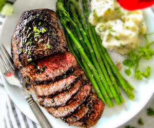 beef, food, and steak image