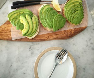 avocado, yum, and food image