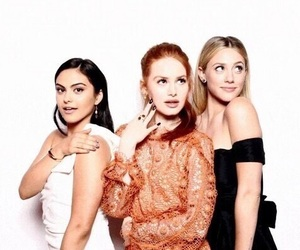 camila mendes, lili reinhart, and madelaine petsch image