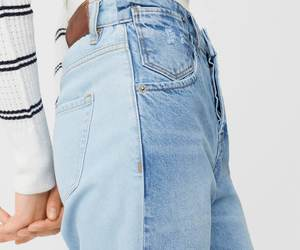 blue, casual, and denim image