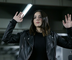 quake, agents of shield, and chloe bennet image