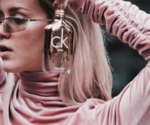 pink, Calvin Klein, and rose image