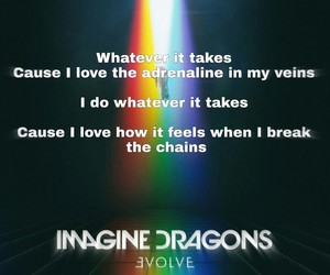 Lyrics, whatever it takes, and imagine dragons image