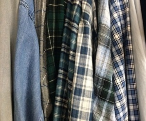 flannel, aesthetic, and theme image