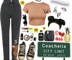 clothes, coachella, and outfit image
