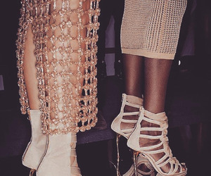 fashion, heels, and runway image