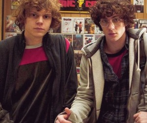 aaron johnson, bromance, and comics image